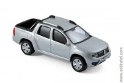 Renault Duster pick-up oroch 4 WD 2017 silver, 1:43 Norev