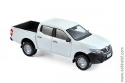 Renault Alaskan pick-up van 4x4 2017 white, 1:43 Norev