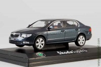 Skoda Superb II 2008 (anthracite gray metallic)