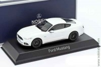 Ford Mustang 2016 white, Norev 1:43