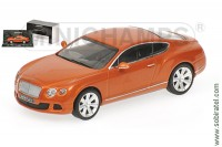 Bentley Continental GT 2011 orange met.