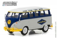 Volkswagen T1 Samba Bus Goodyear Tires 1960, Greenlight 1:43