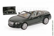 Bentley Continental GTC 2011 green
