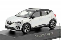 Renault Captur 2020 silver and black roof (Norev 1:43)