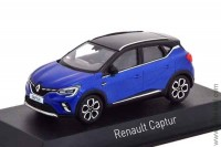 Renault Captur 2020 blue and black roof (Norev 1:43)