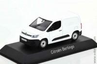 Citroen Berlingo Van 2018 white, Norev 1:43