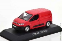 Citroen Berlingo Van 2018 red, Norev 1:43