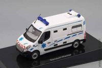 Renault Master III ambulance France 2011 white, Norev 1:43