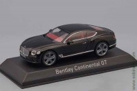 Bentley New Continental GT 2018 black (Norev 1:43)
