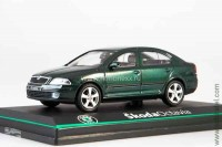 Skoda Octavia 2004 highland green metallic (Abrex 1:43)