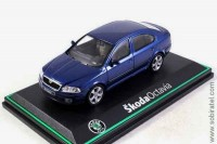 Skoda Octavia 2004 deep blue sea metallic (Abrex 1:43)