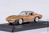 Chevrolet Corvette C2 Stingray 1963, gold, WB 1:43