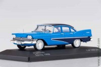 Plymouth Savoy 1959, blue/dark blue, WB 1:43