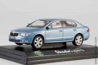Skoda Superb II 2008 (satin gray metallic)
