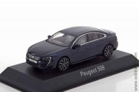 Peugeot 508 sedan 2018 dark blue (Norev 1:43)
