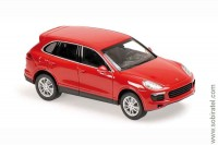 Porsche Cayenne 2014 Red 1:43 Maxichamps