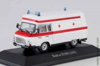 Barkas B1000 (1965) ambulance, 1:43 Atlas