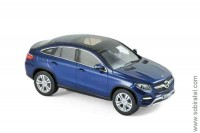 Mercedes-Benz GLE Coupe (C292) 2015 blue metallic, Norev 1:43