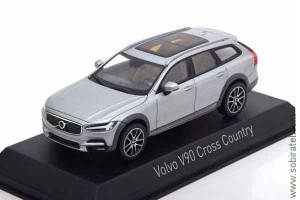 Volvo V90 Cross Country 2017 bright silver, 1:43 Norev