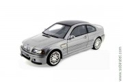 BMW M3 CSL 2003 steel grey metallic, 1:43 PremiumX