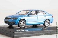 Škoda Octavia III (2012) denim blue metallic