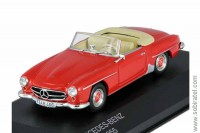 Mercedes-Benz 190 SL cabriolet W121 (R121) 1955 red
