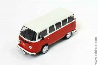 Volkswagen Kombi T2 (Бразилия) 1976 red/white (PremiumX)