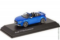 Audi TT RS Roadster 2017 ara blue, 1:43 i-Scale