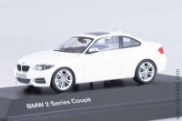 BMW 2 series Coupe white, 1:43 Paragon