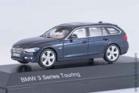 BMW 3 Series (F31) Touring blue, 1:43 Paragon
