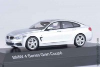BMW 4 Series Gran Coupe silver, 1:43 Paragon