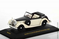 ALVIS 4.3 Litre Drophead Convertible 1938, black / light beige (MUS065)