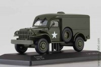 Dodge WC54 4х4 US Army 1942 olive (WB 1:43)