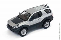 Isuzu VehiCross 1997 silver metallic