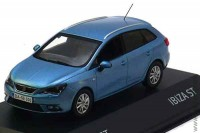Seat Ibiza ST 2013 metallic blue, 1:43