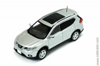 Nissan X-Trail 2014 silver metallic
